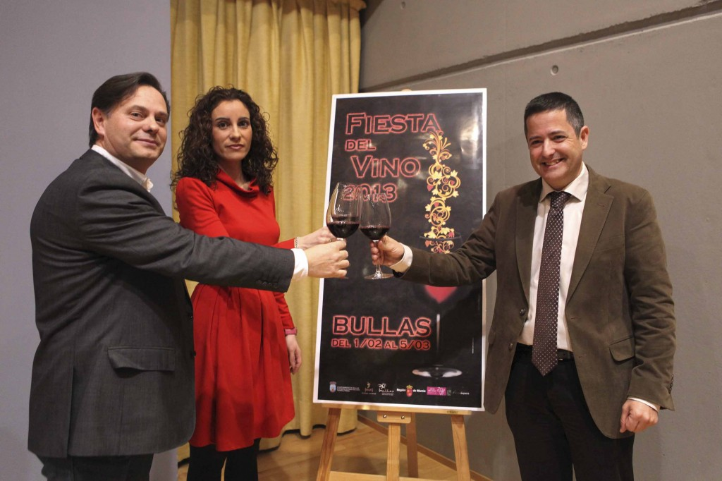 cartel ruta del vino de Bullas