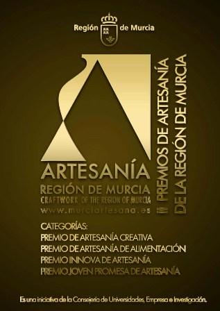 cartel II premios de artesania murcia