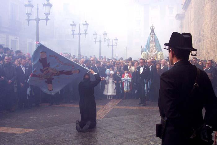 [Yecla_Fiestas_de_la_Virgen_del_Castillo]_Baile_de_la_bandera