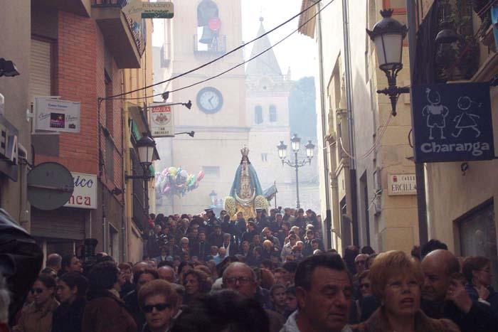 [Yecla_Fiestas_de_la_Virgen_del_Castillo]__La_Virgen_vuelve_a_su_Santuario